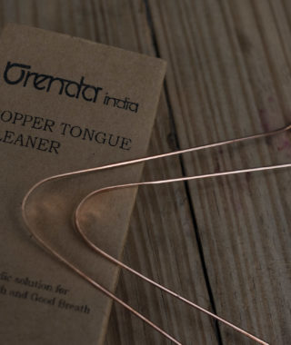 Copper Tongue Cleaner (Set of 2)