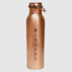 Ayurvedic Copper Water Bottle – 7 Chakra
